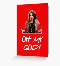 Oh my god! Greeting Card