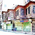 Buildings in the historic center of Aleppo by Giuseppe Cocco