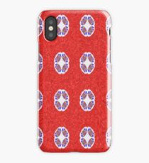 A lot of red abstract pattern iPhone Case