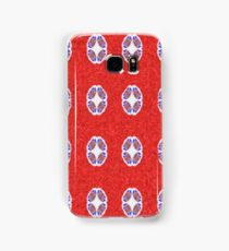 A lot of red abstract pattern Samsung Galaxy Case/Skin
