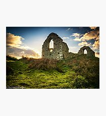 Hen Eglwys also known as capel Mair. Photographic Print