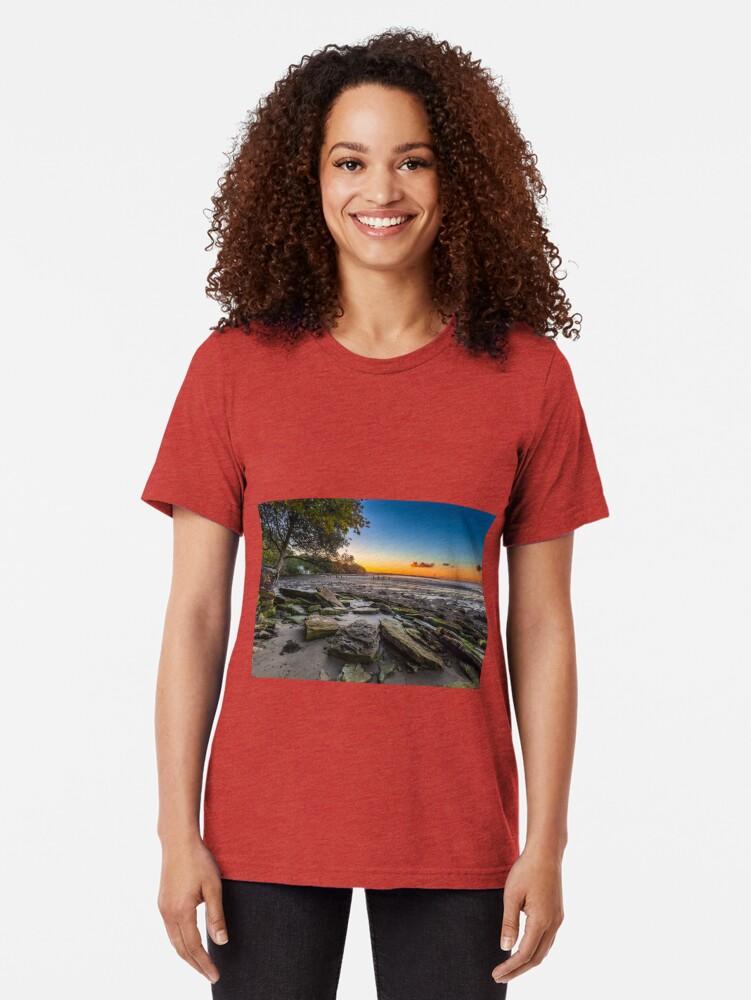 Alternate view of Players Beach Binstead Tri-blend T-Shirt