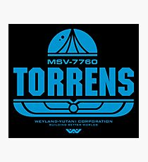 Torrens (blue) Photographic Print