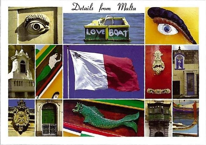 Malta Postcard  by steadyeddie