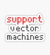 Support vector machines Sticker
