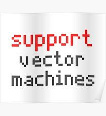 Support vector machines Poster