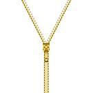 Gold zipper - White inside by Neelai