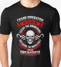 CRANE OPERATOR we the willing Unisex T-Shirt