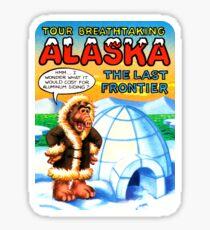 Alaska AK United States of ALF Travel Decal Sticker