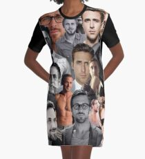 Ryan Gosling Collage Graphic T-Shirt Dress
