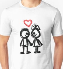 """Valentine´s Day """"Lovely Doodle"""" T-Shirt"""