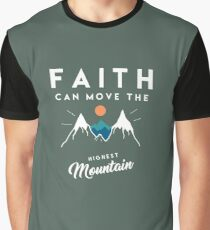 Faith Quote Graphic T-Shirt