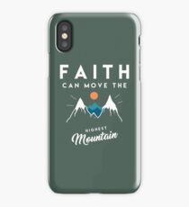 Faith Quote iPhone Case/Skin