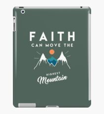Faith Quote iPad Case/Skin