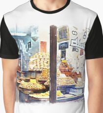 Showcase of Aleppo pastry shop Graphic T-Shirt