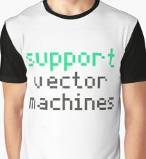 Support vector machines (green) Graphic T-Shirt