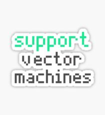 Support vector machines (green) Sticker