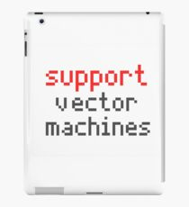 Support vector machines iPad Case/Skin