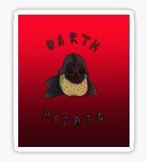 Darth Potato Sticker