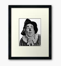 Wizard of Oz Scarecrow Framed Print