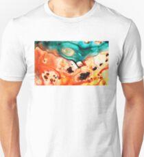Abstract Art - Just Say When - Sharon Cummings T-Shirt