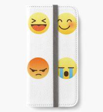 Happy Birthday Emoji Emoticon Graphic Tee Shirt Funny IPhone Wallet Case Skin