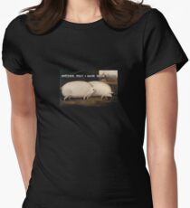 Brother, may i have oats? Women's Fitted T-Shirt