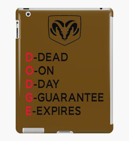 DODGE DEAD iPad Case/Skin