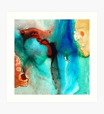 Modern Abstract Art - Color Rhapsody - Sharon Cummings Art Print
