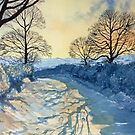 Winter Walk on Wykeham Road by Glenn Marshall