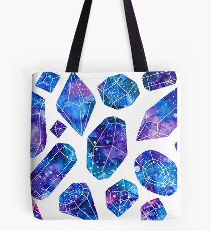 Galaxy crystals Tote Bag