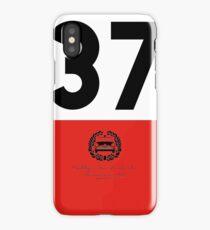 Rallye Monte-Carlo Mini Cooper S - 37 iPhone Case/Skin