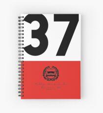 Rallye Monte-Carlo Mini Cooper S - 37 Spiral Notebook
