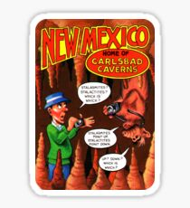 New Mexico Carlsbad Caverns United States of ALF Travel Decal Sticker