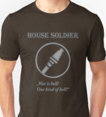 Team BLU - House Soldier Unisex T-Shirt