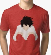 L DEATH NOTE Tri-blend T-Shirt