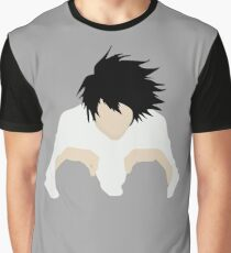 L DEATH NOTE Graphic T-Shirt