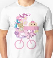 Baby Girl Carriage Unisex T-Shirt