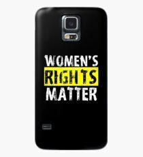 Women's Rights Matter Case/Skin for Samsung Galaxy