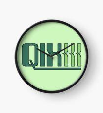 Qix (Game Boy Title Screen) Clock