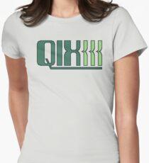 Qix (Game Boy Title Screen) Womens Fitted T-Shirt