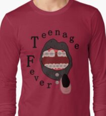 black teenage fever Long Sleeve T-Shirt