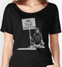 """Women's Movement """"We Shall Overcome"""" Women's Relaxed Fit T-Shirt"""