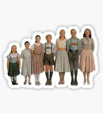 Von Trapp Children Sticker