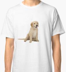 Cute Golden Retriever Classic T-Shirt