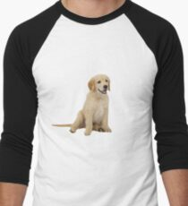 Cute Golden Retriever Men's Baseball ¾ T-Shirt