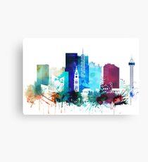 Denver Colorado Cityscape Canvas Print