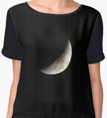 Moon and Craters Chiffon Top