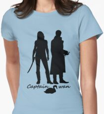 Captain Swan version 2 Women's Fitted T-Shirt