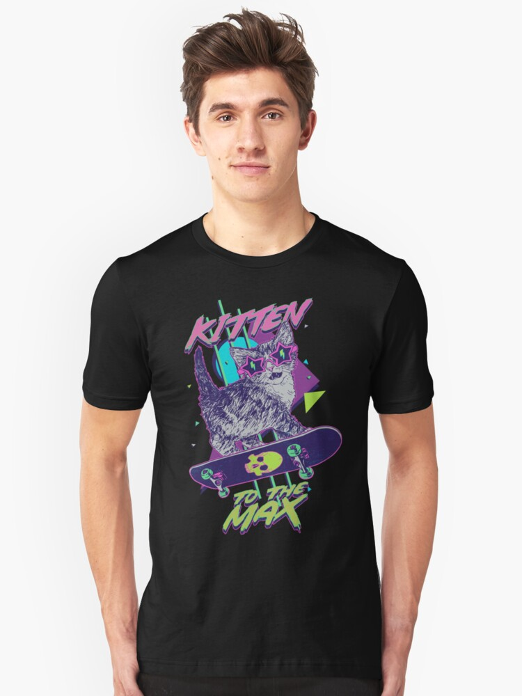 Kitten To The Max Unisex T-Shirt Front